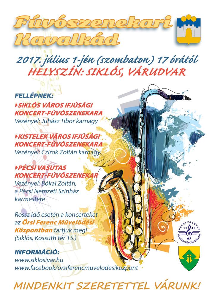 Plakát_Fúvós Kavalkád